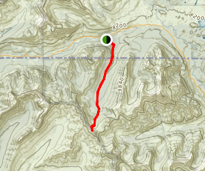 Republic Pass Trail Map