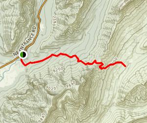 Thunderer Cutoff Trail Map