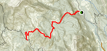 Washington Gulch Trail Map