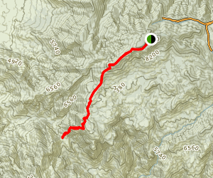 Mount Lemmon Trail Map