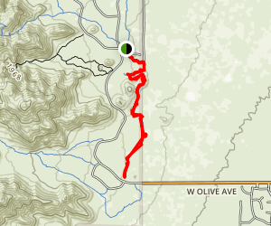 Mule Deer Trail (Maricopa Trail) Map
