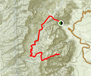 Bridge Mountain Trail Map
