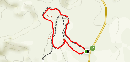 Pothole Point Trail Map