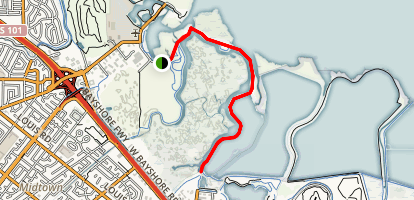 Baylands Trail  Map