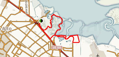 Charleston Slough Trails Map