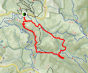 Stevens Creek Nature Trail Loop Map