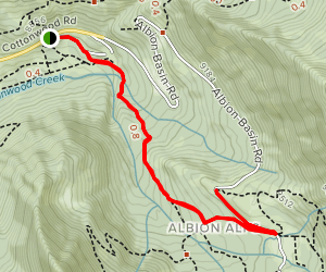 Albion Meadows Trail Map
