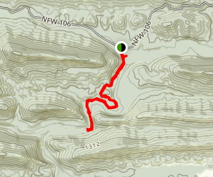 Winding Stairs Trail Map