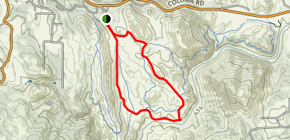 East Ridge - Long Valley Trail Loop Map