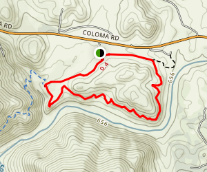 Gerle Loop Trail Map