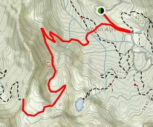 Sugarloaf Peak Map