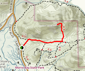 Cerro Cabrillo/Cabrillo Peak Map