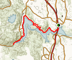 Lake Hodges Trail Map