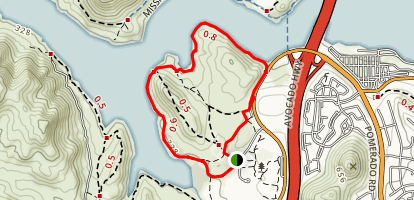 Bernardo Bay Trail Map
