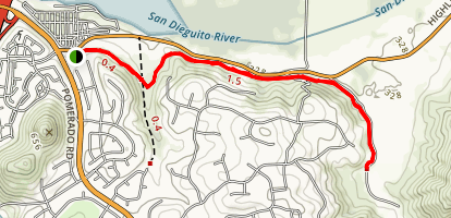 Highland Valley Trail Map