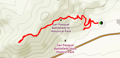 Battle Monument Trail Map