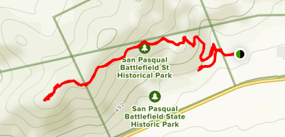 Battle Monument Trail [CLOSED] Map