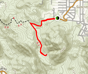 Suncrest Truck Trail [PRIVATE] Map