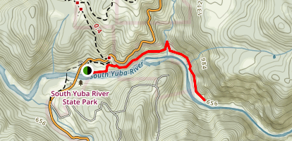 Buttermilk Bend Trail Map
