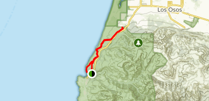 Sand Dunes Bluff Trail Map