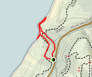 Hazard Reef Trail Map