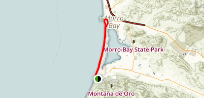 Morro Bay Sand Spit Trail Map