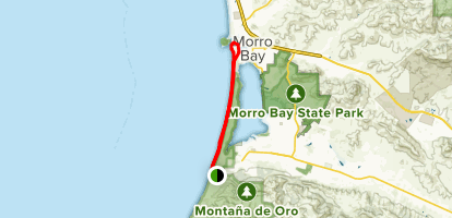 Morro Bay Sand Spit Trail - California | AllTrails on la jolla shores map, morro strand morro bay map, sinkyone wilderness state park map, leo carrillo state park map, palomar mountain state park map, castle crags state park map, charles paddock zoo map, la jolla cove map, oxnard beach park map, silver strand state beach map, morro strand beach campground, crystal cove state park map, morro strand campground ca,