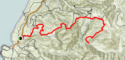 East Boundary Trail Map