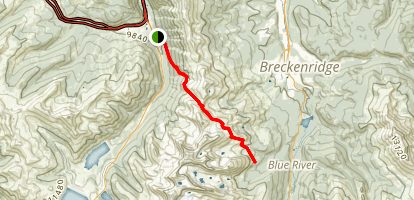 Wheeler Pass Trail Map
