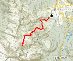 Peak 10 Trail Map