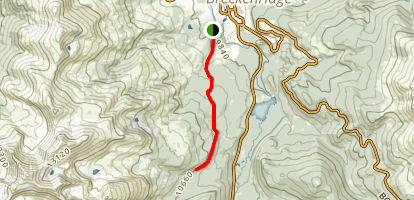 Burro Trail Map
