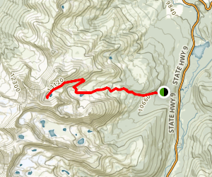 Father Dyer Peak Trail Map