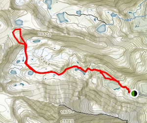 Pacific Tarn Trail Map