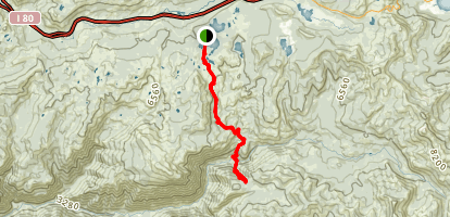 Palisade Creek Trail Map