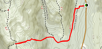Canon Brook Trail Map