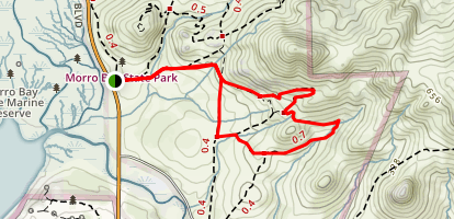 Crespi Trail Map
