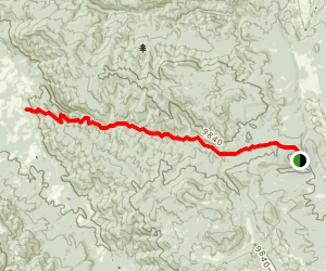 Silver Creek Trail Map