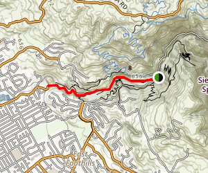 Penetecia Creek Trail Map