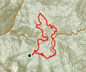Ridge Trail to 41 Map