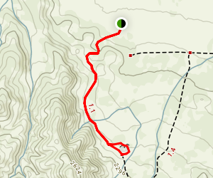 Painted Rock Trail Map