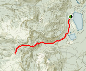 Seven Lakes Trail Map