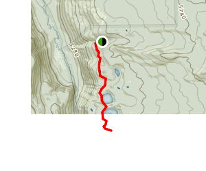 Erma Bell Lakes Trail Map