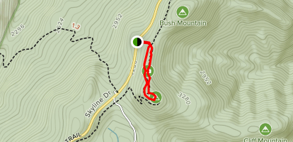 Bearfence Mountain Trail Map