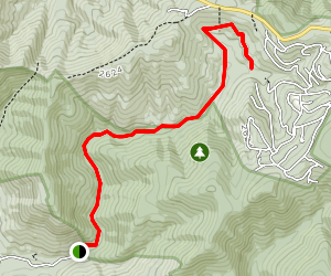 West Branch Naked Creek Trail Map