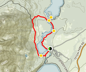 String Lake Trail Map