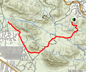 Starr Pass Trail Map