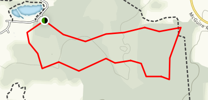 Rush Creek Conservation District Loop Map