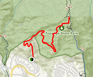 Trailer Canyon Fire Road Map