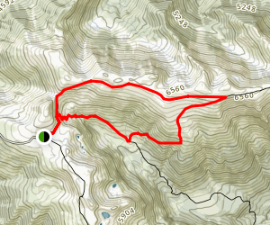 Elk Mountain Trail Loop Map