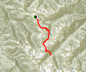 Grand Pass Trail Map